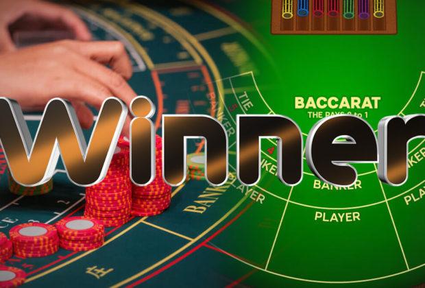 Winner of casino